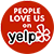 social button Yelp